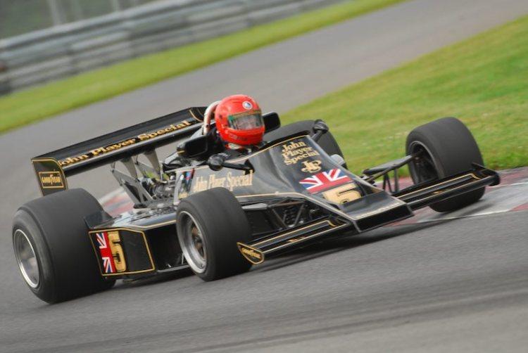 #5- James King Lotus 77 F1.