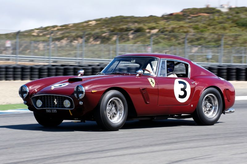 1961 Ferrari 250SWB driven by Nick Colonna.