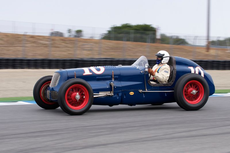1938 Sparks Thorne Indy Special driven by Joseph Freeman.