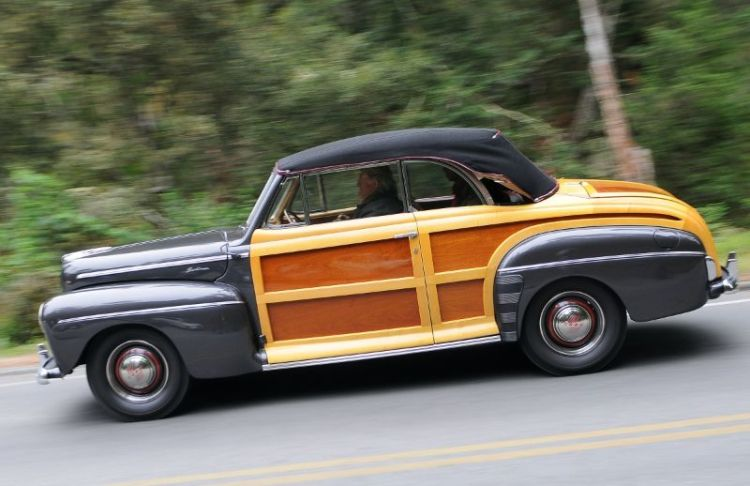 Ford Woodie Convertible