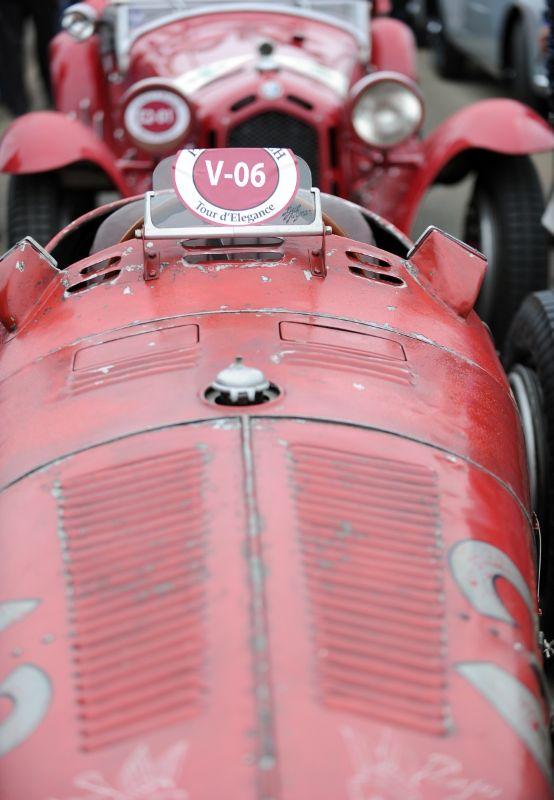 1932 Alfa Romeo Tipo B, Hugh Taylor