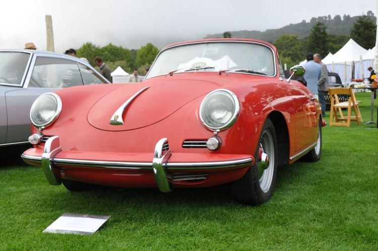 1961 Porsche 356 Super 90 Cabriolet - Jon and Joan Wactor
