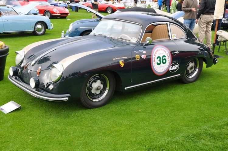 1955 Porsche 356 Continental Coupe - Dick and Caroline McClure