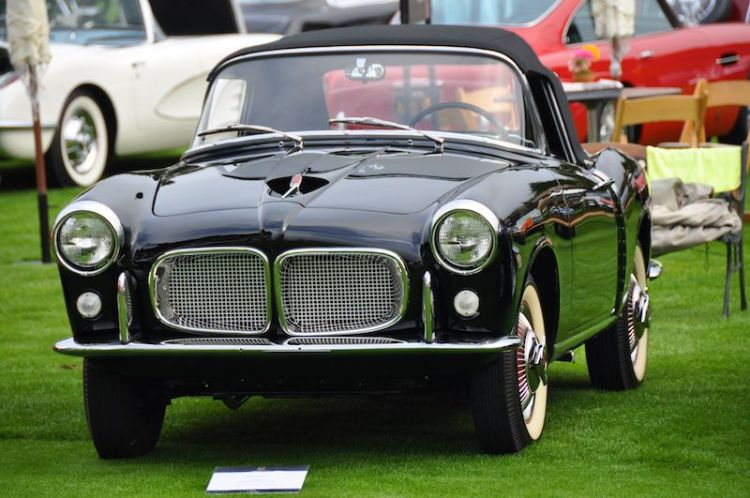1958 Fiat 1100TV Transformabile - Richard Powers