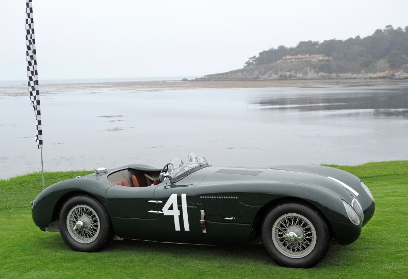 1952 Jaguar C-Type, Gary Bartlett