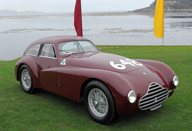 1948 Alfa Romeo 6C 2500 SS Competizione Berlinetta, David Smith