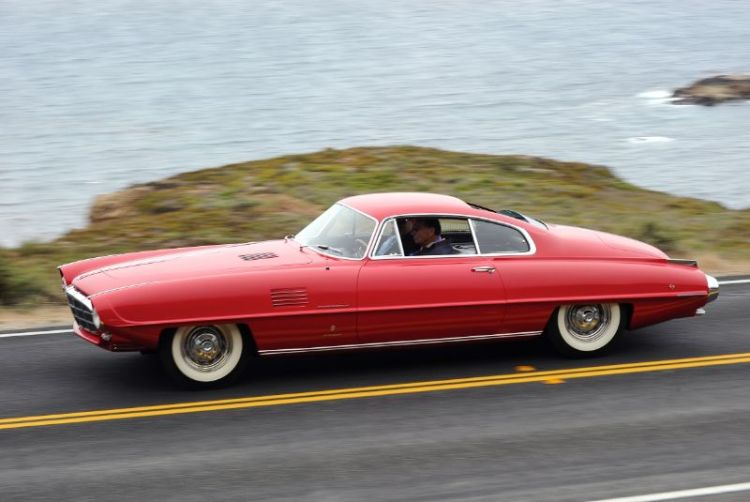 1954 DeSoto Adventurer II Ghia Coupe, Chuck Swimmer