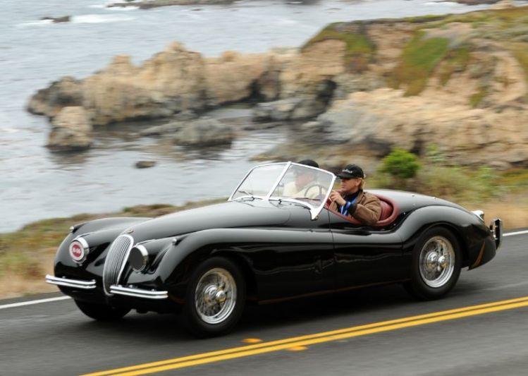 1953 Jaguar XK 120 SE Roadster, Frank Morton and Steve Morton