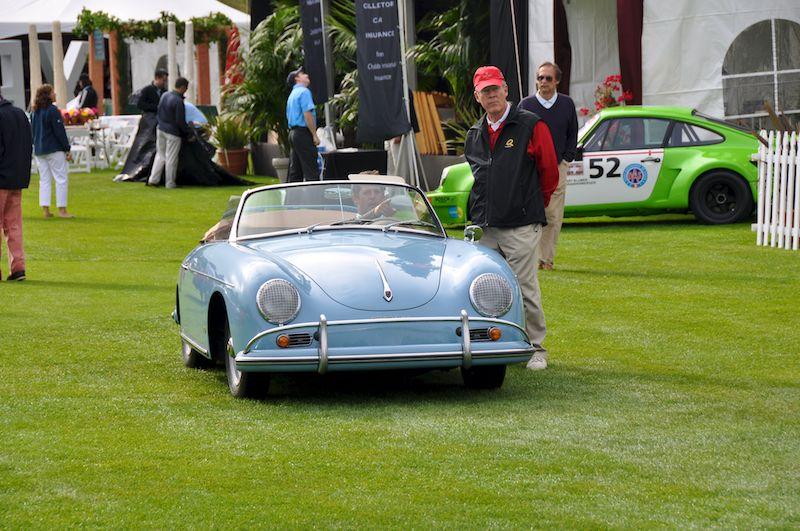 Porsche 356 finds his spot