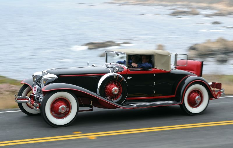1929 Cord L-29 Cabriolet, Bill and Linda Jackson