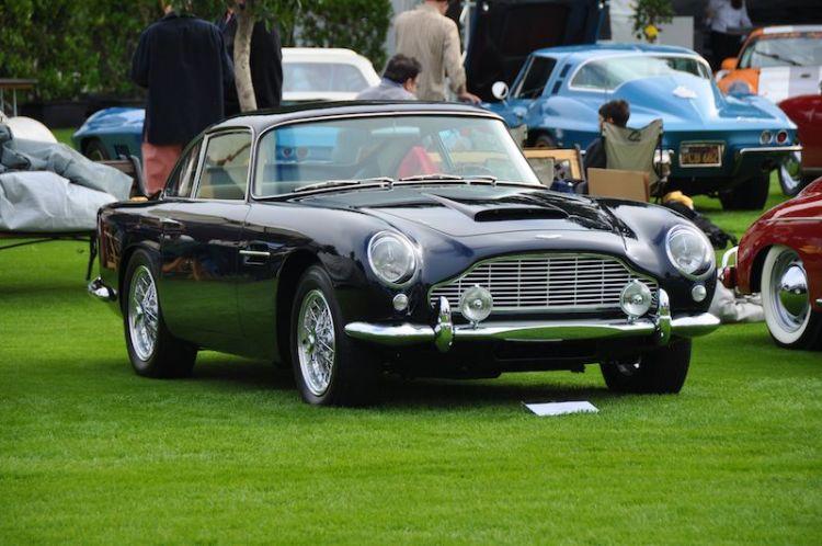 1962 Aston Martin DB4 Mark IV - Nicolas Clemence