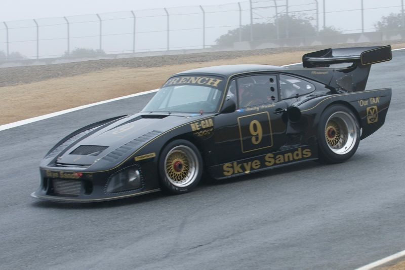 Porsche 935 driven by Rusty French.