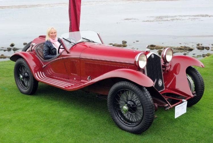 1933 Alfa Romeo 8C 2300 Touring Spider, Hugh Taylor