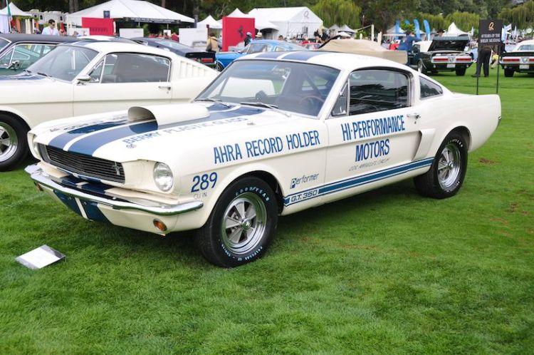 1966 Shelby GT350 Drag Race Car - Richard and Pamela Ellis