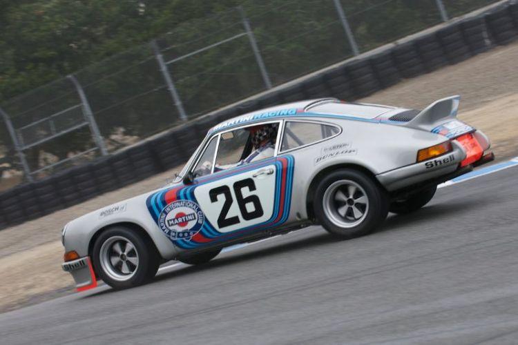 1973 Porsche 3.0 RSR Prototype driven by Brad Hook.