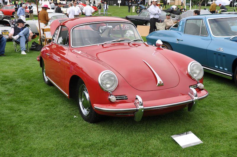 1964 Porsche 356 C Coupe - Mark Smedley