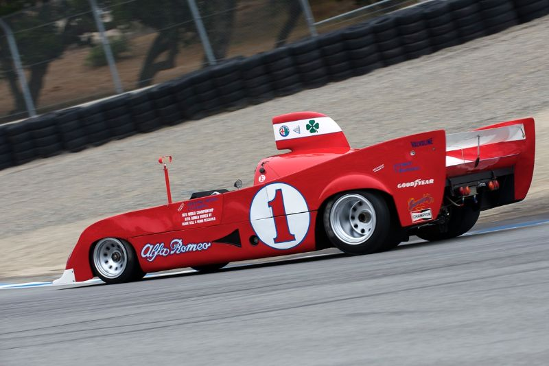 1974 Alfa Romeo FIA Prtotype driven by Joseph DiLoreto.