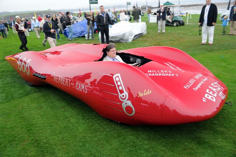 1952 Chet Herbert 'Beast III' Streamliner, Mark and Newie Brinker