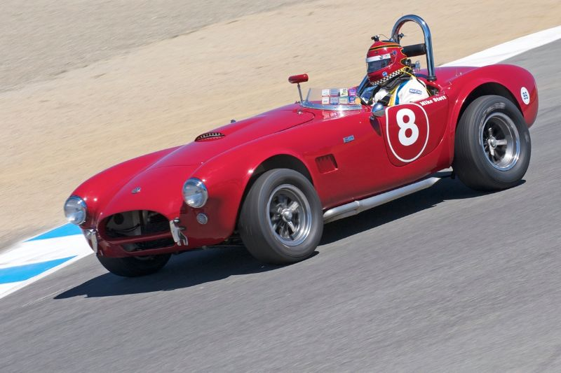 1963 Cobra driven by Michael Stott.