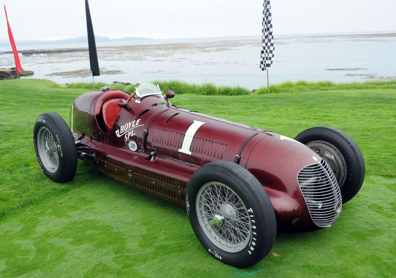 1938 Maserati 8CTF 'Boyle Valve Special', Indianapolis Hall of Fame Museum