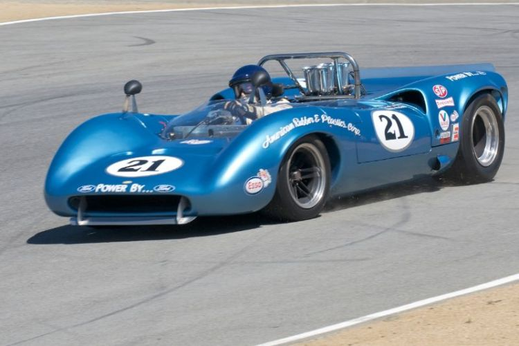 1967 Lola T70 Mk 3 Spyder driven by Nick Colonna.
