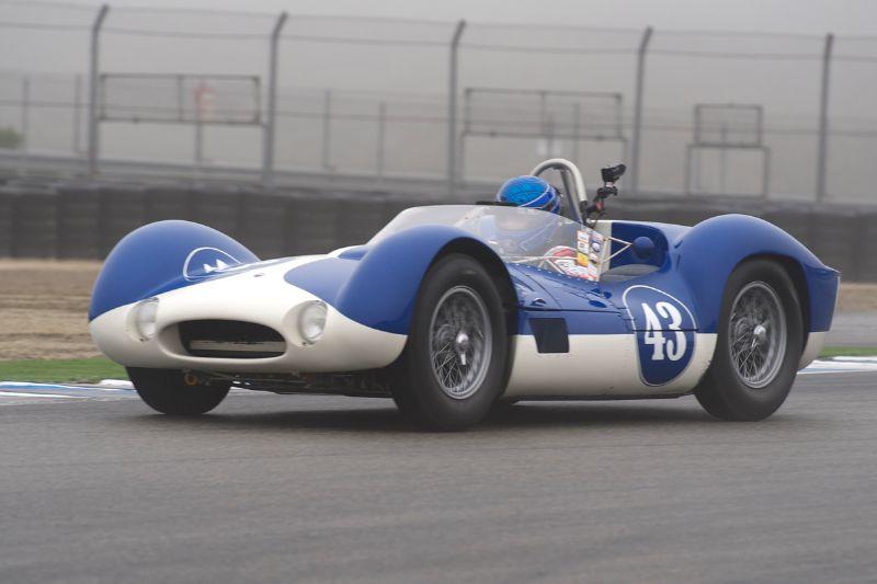 Rob Walton's 1959 Maserati Tipo 60.