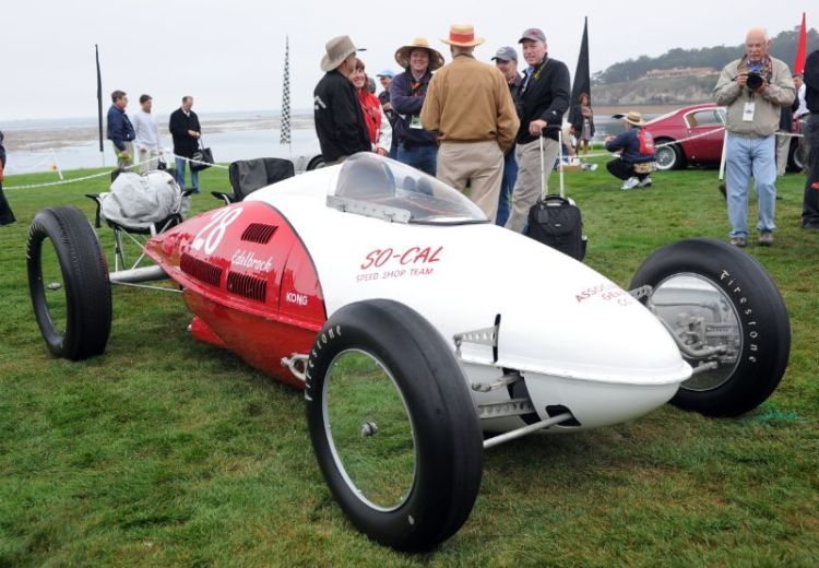 1952 So-Cal Speed Shop Streamliner, Bruce Meyer