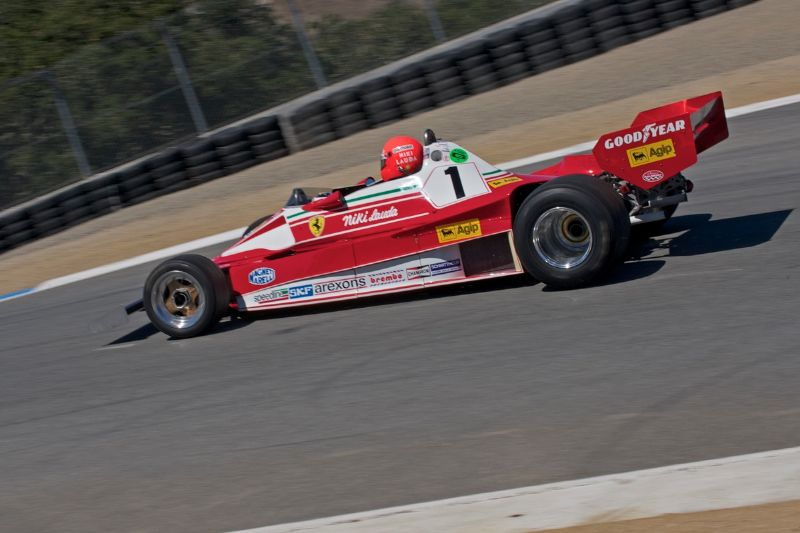 1976 Ferrari 312 T2 of Chris MacAllister, ex-Niki Lauda.