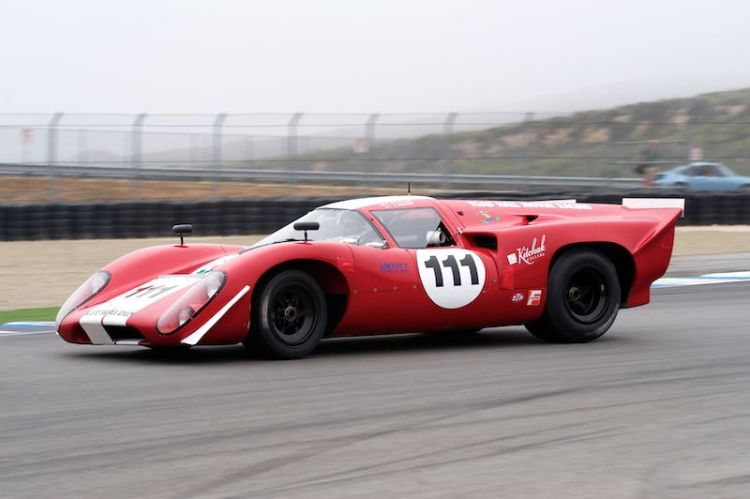 Second place in Group 5A for Peter Kitchak's 1969 Lola T70 MK3B.