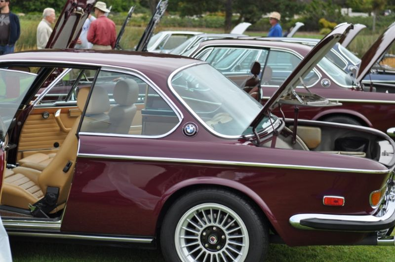 BMW 3.0 CS lineup