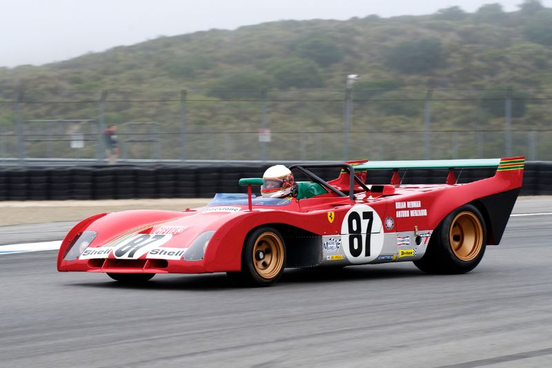 Steven Read's 1970 Ferrari 312PB took third place in Group 5A.
