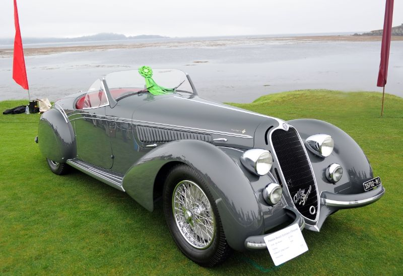 1938 Alfa Romeo 8C 2900 Touring Spider, William 'Chip' Connor