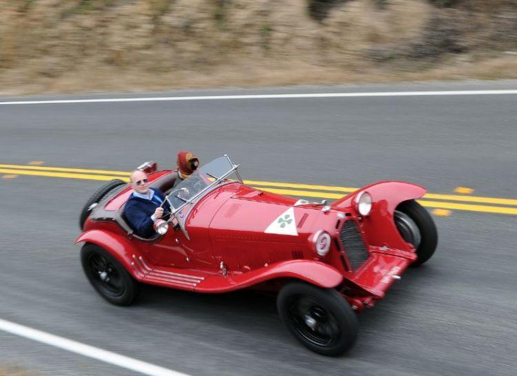 1931 Alfa Romeo 8C 2300 MM Zagato Spider, Eric Heerema