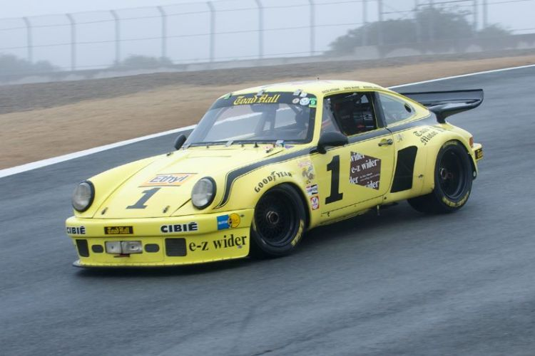 Fourth place in group 2A for Peter Kichak's 1973 Porsche RSR.