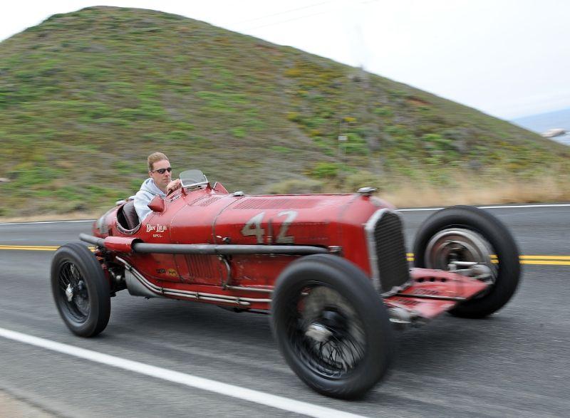 1932 Alfa Romeo Tipo B Don Lee Special, Hugh Taylor