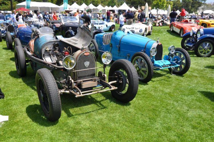 Bugattis from Reunion to Quail Run