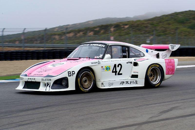 Ranson Webster's 1976 Porsche 935 K3.