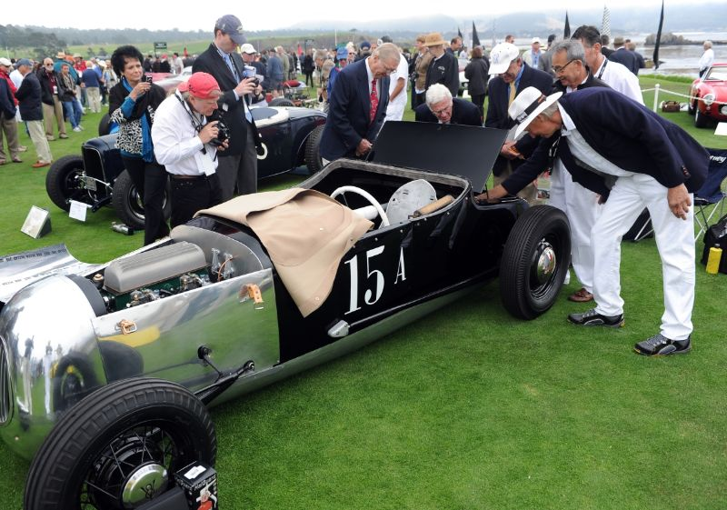Pebble Beach Concours Judging Begins