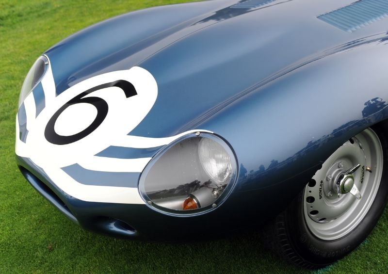 1955 Jaguar D-Type XKD504, Cavallino Collection