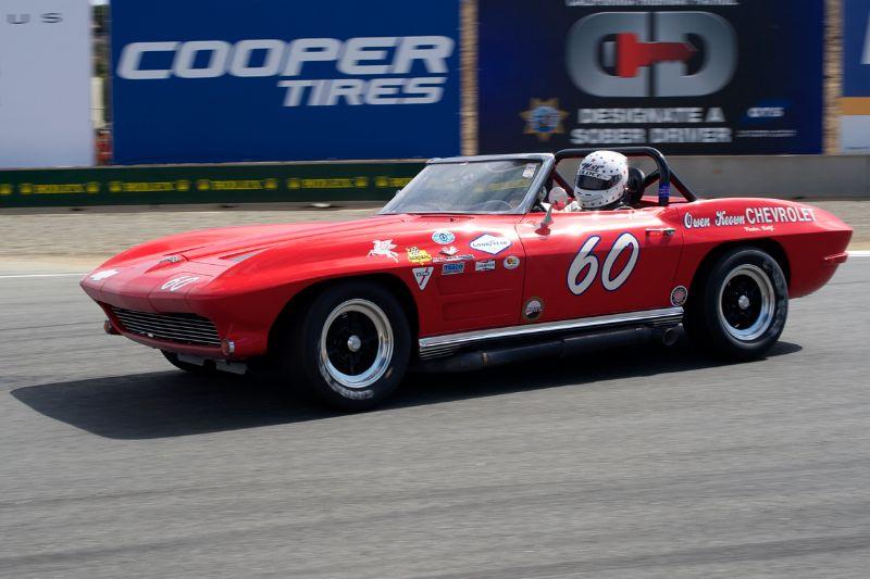 Terry Miller's 63 Corvette.