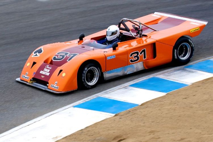 Henry Manney in his 1971 Chevron B19.
