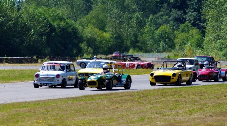 Group 2 - out of turn 1 on lap 1