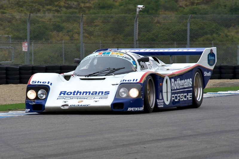 Johan Woerheide's 1986 Porsche 962.
