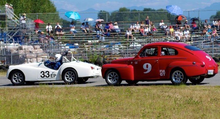 Volvo and TR3