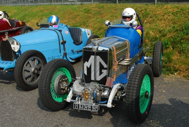 Lee Duran 1934 MG PA Special.