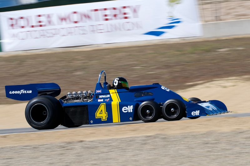 1976 Tyrrell P34 driven by Craig Bennett.