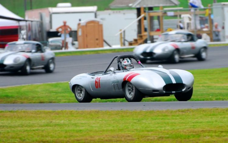 1965 Jaguar XKE - Bob Hebert.