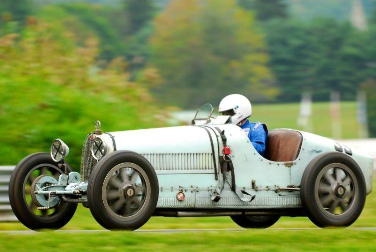 1929 Bugatti Type 37A- Tom Clifford.
