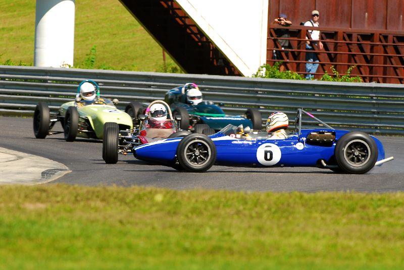 Rob Burt - spins in Turn 1- 1962 Cooper FJ.