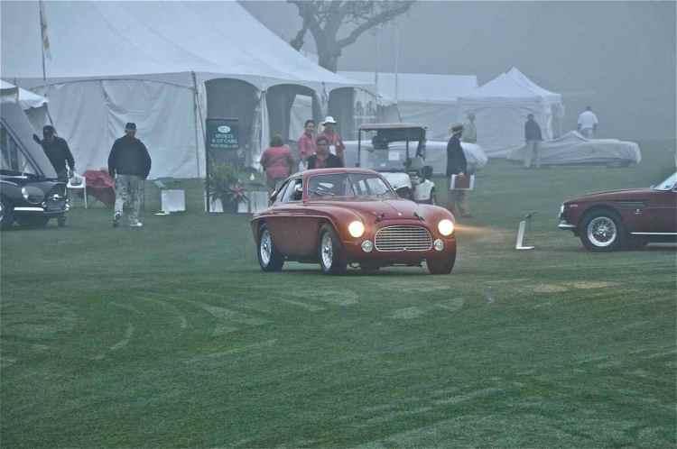 1950 Ferrari 166MM Le Mans Berlinetta